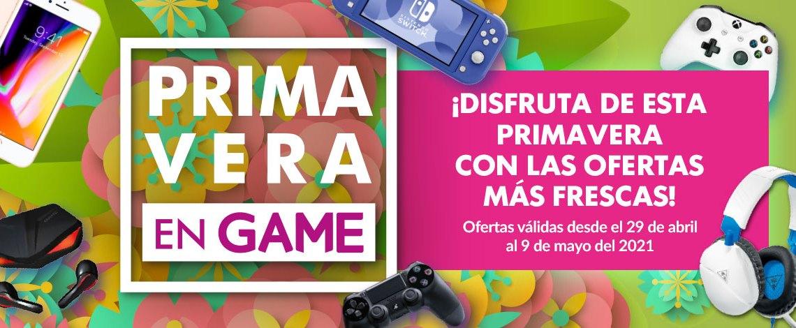 Comienzan las 'Ofertas de Primavera' de GAME, disponibles hasta el 9 de mayo