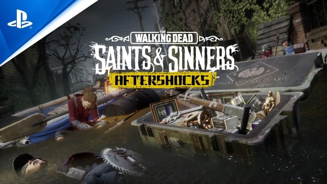 La actualización 'The Aftershock' de The Walking Dead: Saints & Sinners llega en mayo de forma gratuita