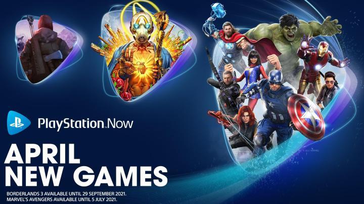 Marvel's Avengers, Borderlands 3 y The Long Dark, juegos de abril en PlayStation Now