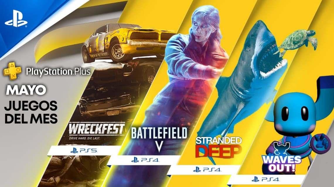 Ya disponible para descargar los juegos gratuitos de mayo de PlayStation Plus para PS5 y PS4