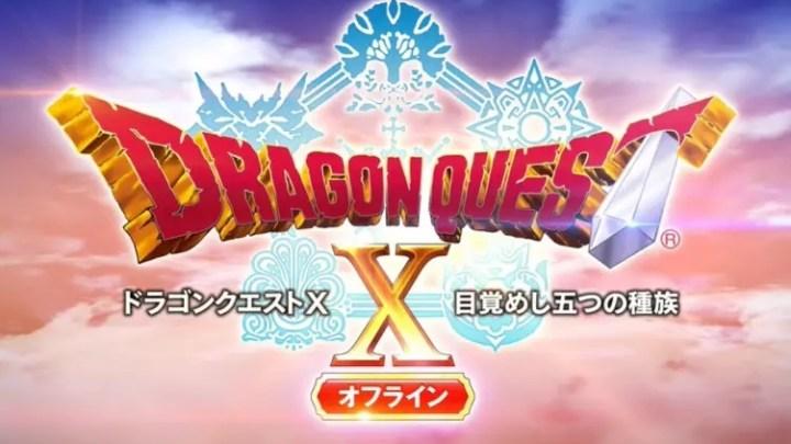 Square Enix comparte el primer gameplay de Dragon Quest X Offline