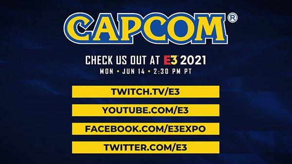 Capcom pone fecha y hora a su presentación en el E3 2021