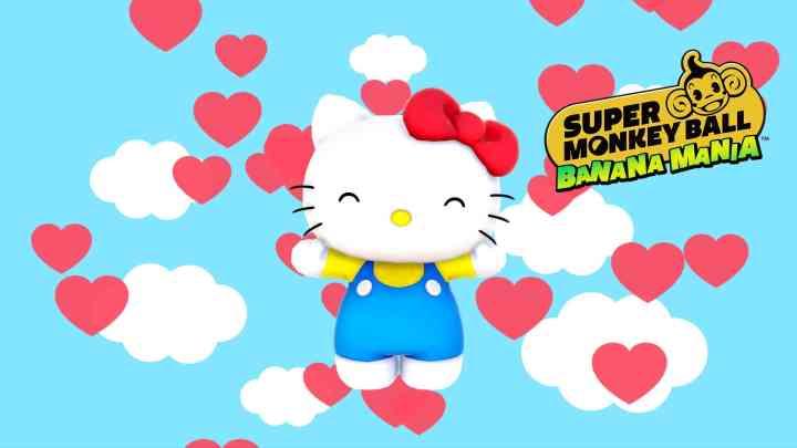 Hello Kitty llegará a Super Monkey Ball: Banana Mania como personaje descargable | Nuevo tráiler
