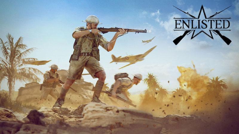 Comienza la beta cerrada de la campaña 'Batalla de Túnez' en Enlisted