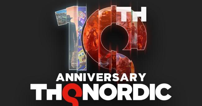 THQ Nordic celebrará su 10º aniversario con evento especial el 17 de septiembre