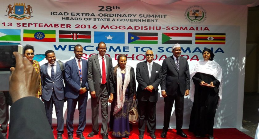 Somalia hosts historic IGAD summit in Mogadishu