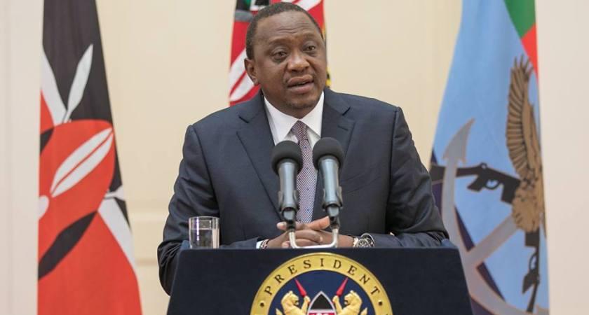 Uhuru Kenyatta suspends his social media accounts over an 'insider hacking'.