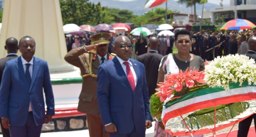 Burundi: Commemoration of the 25th anniversary of the assassination of President Melchior Ndadaye.