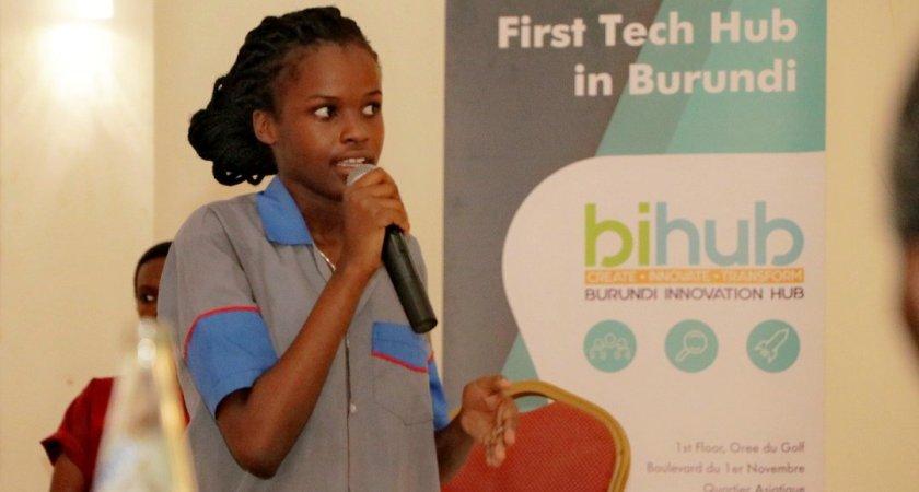 Highlights of AfricaCodeWeek 2018 closure's ceremonies by Burundi Innovation Hub(BiHub)