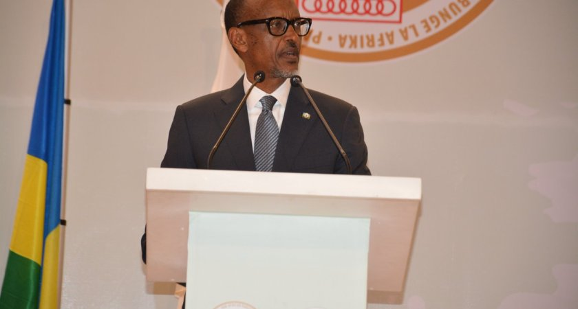 Kagame Seeks Pan African Parliament's Support In Driving the Continental Free Trade Area.