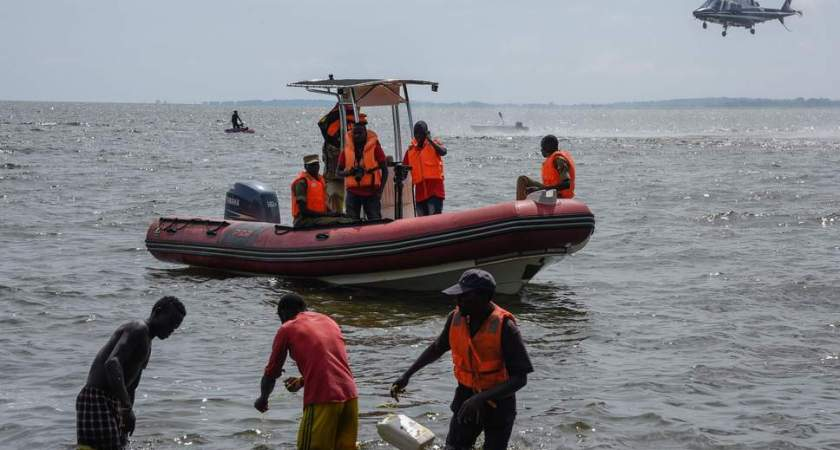 At least 29 people dead in party boat, in lake Victoria Uganda.