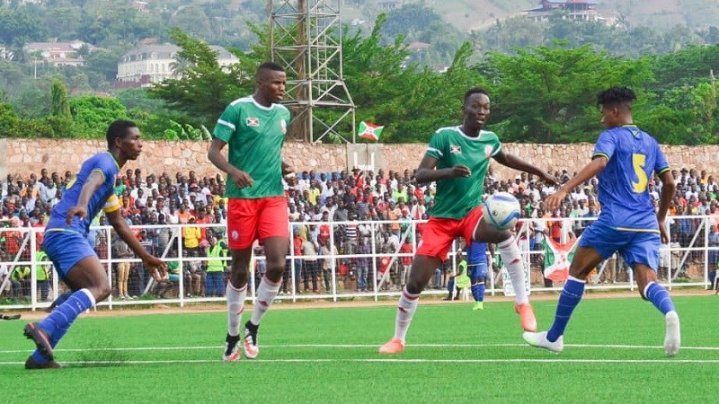Burundi-Football: Burundi beat Tanzania by two goals to nil.