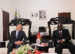 Burundi National Assembly  President received a UN delegate.