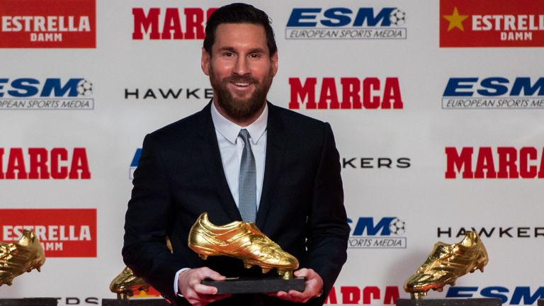 Sport| Leonel Messi won his fifth Golden Boot, a new ...