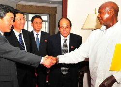 Uganda reported to be 'defying' North Korea sanctions despite its pledge to sever their mutual diplomatic relations.