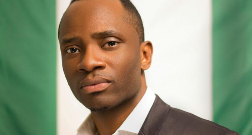 Meet the young Chike Ukaegbu, 35 years old, running for Presidency in Nigeria.