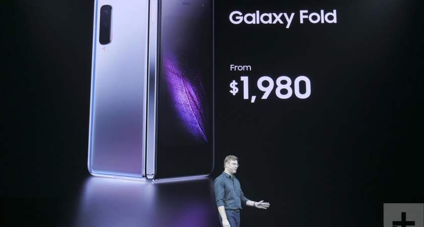 Samsung unveils 'Galaxy Fold', starts at $1,980, launches April 26