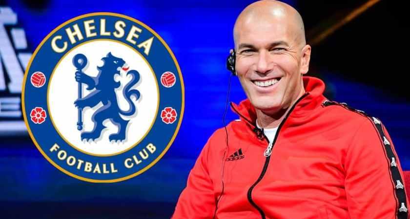 Zinedine Zidane interested in Chelsea job if they keep Hazard