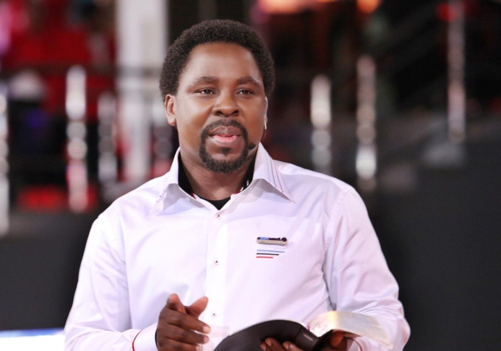 I had a special parcel for TB Joshua but last week they