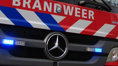 Photo of Brandstichting taxibusje Landauerstraat