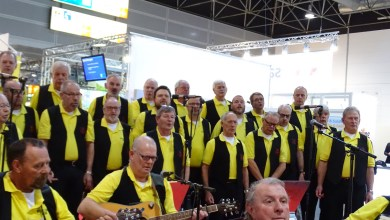 "Photo of Folkkoor ""Rolling Home"" zingt in Purmerend"