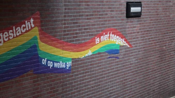 Regenboogkunstwerk Purmerend