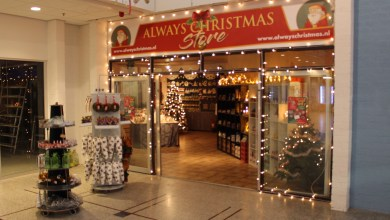 Photo of Kerst Pop-up store Winkelcentrum Overwhere geopend