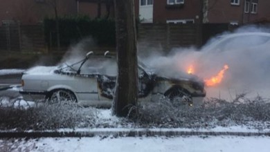 Photo of Autobrand op Koningsvaren