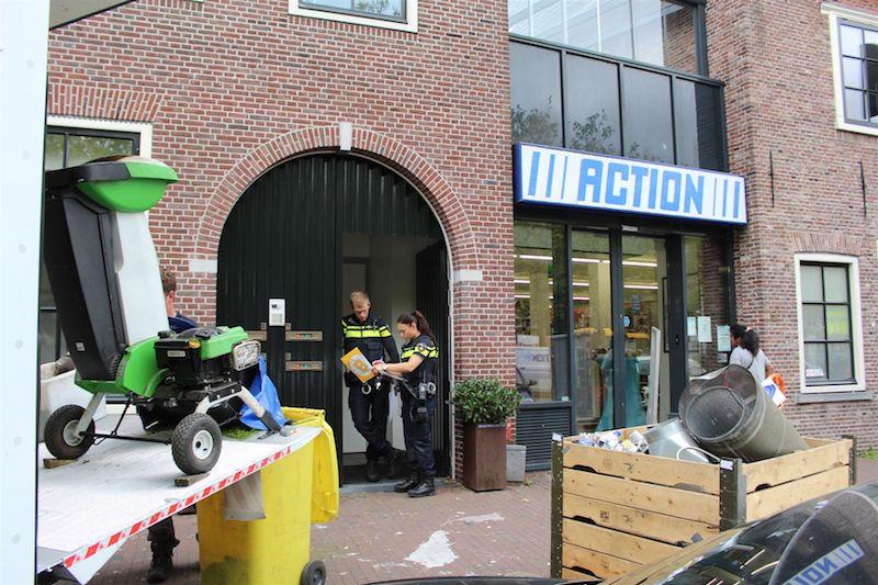 Hennepkwekerij aangetroffen boven action weerwal regio for Afdekzeil action