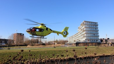 Photo of Traumahelikopter ingezet in Weidevenne
