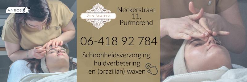 Zen Beauty Neckerstraat 11, Purmerend