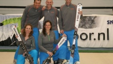 Photo of Guinness World Records Indoor Skiën in Landsmeer voor KWF kankerbestrijding