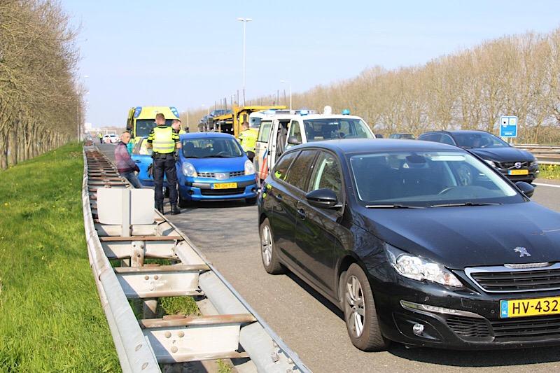 Gewonde door ongeval a7 richting Zaanstad