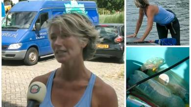 Photo of Sup it up: Nanda raapt zwerfafval tijdens het suppen (video)
