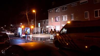Photo of Brand in schuur op de Dijckscampenlaan