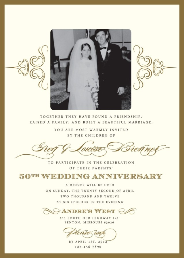 40Th Wedding Anniversary Invitations Ru Anniversary Invitation Cards Dutchgirlbrewery