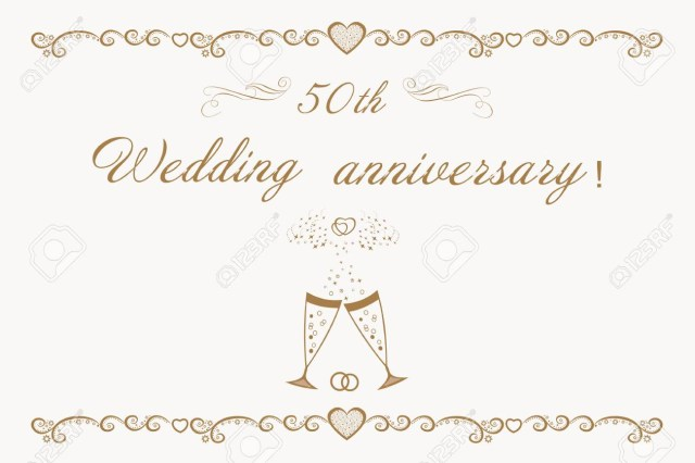 50Th Wedding Anniversary Invitations Beautiful Anniversary Invitation Golden Wedding 50th Wedding