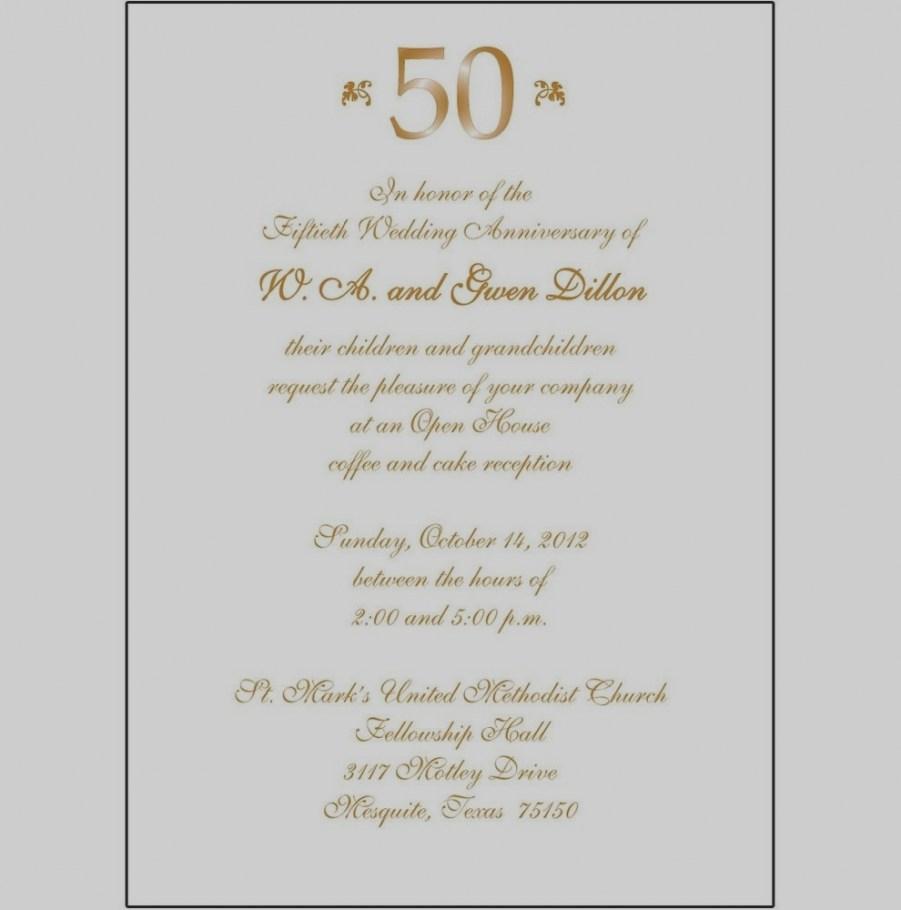 50Th Wedding Invitations 2018 50th Wedding Anniversary Invitations Eventinvitationtemplates