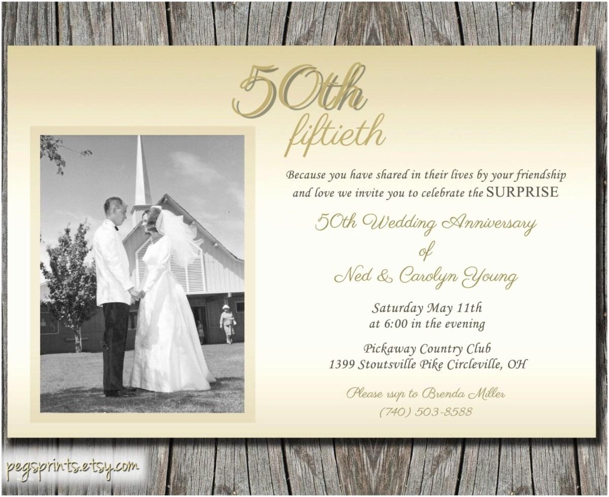 50Th Wedding Invitations 50th Wedding Anniversary Invitations Free Templates Beautiful 20