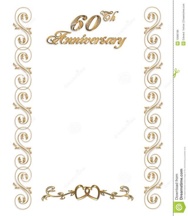 60Th Wedding Anniversary Invitations 60th Wedding Anniversary Invitation Cards 60th Anniversary