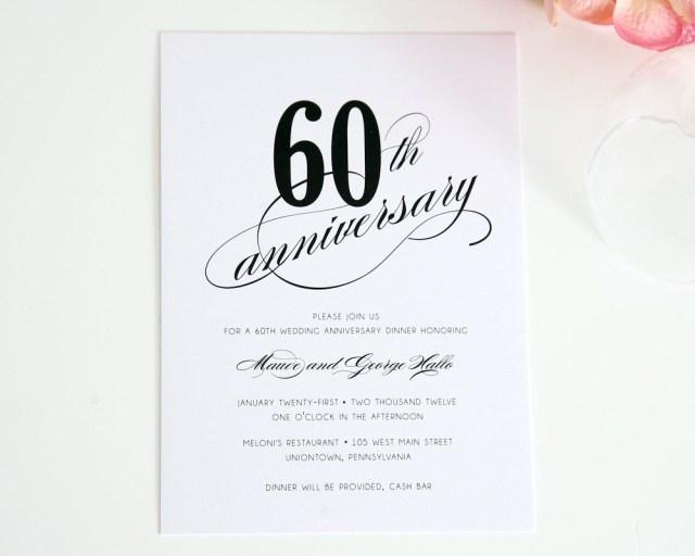 60Th Wedding Anniversary Invitations Wedding Anniversary Invitations What You Should Do To Find Out