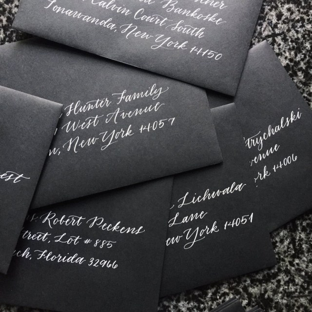 Addressing Wedding Invitations Outer Envelope Only How To Address Wedding Envelopes In 2018 And Beyond Ink Matter
