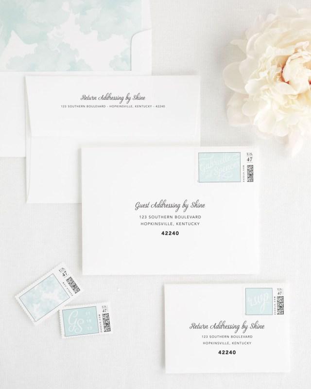 Addressing Wedding Invitations Outer Envelope Only Statement Script Wedding Invitations Wedding Invitations Shine