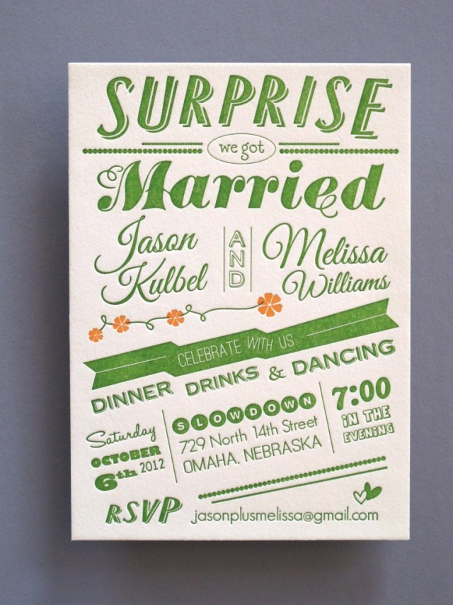 Affordable Letterpress Wedding Invitations Just When You Were About To Give Up Hope On Affordable Letterpress
