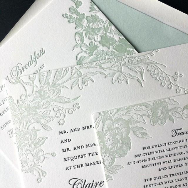 Affordable Letterpress Wedding Invitations Letterpress Wedding Invitations Letterpress Wedding Invitation