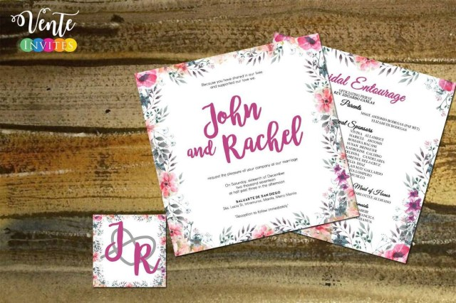Affordable Wedding Invites Wedding Invitations Wedding Package Philippines Affordable
