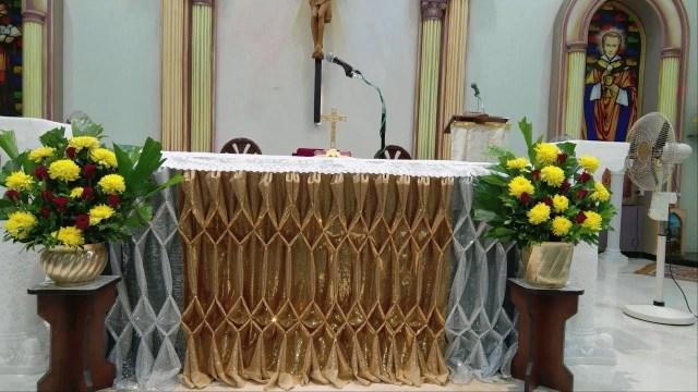 Alter Decorations Wedding Church Altar Decoration Youtube