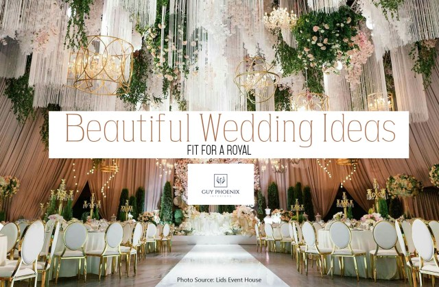 Amazing Wedding Ideas Beautiful Wedding Ideas Fit For The Royal Wedding In Spring