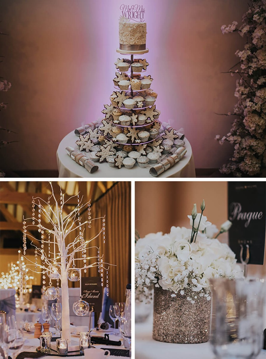 Amazing Wedding Ideas Michelle And Chris Magical Winter Wedding At Rivervale Barn Real