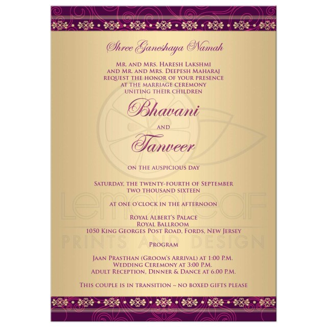 American Wedding Invitations American Wedding Invitations 36697 Rectangle